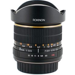 Rokinon 8mm Fisheye lens