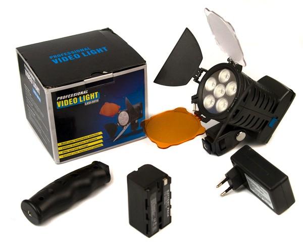 Video LED Light 5010 for DSLR/Camcorder-272