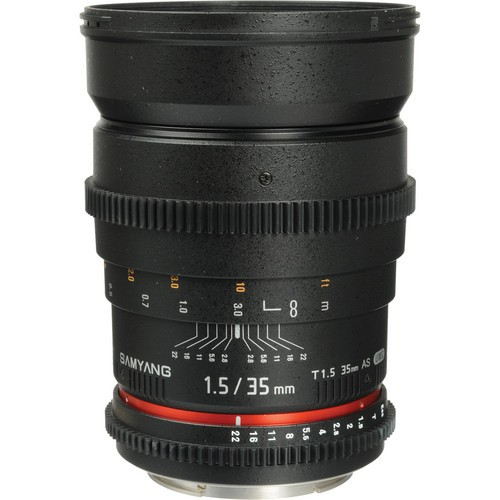 Samyang 35mm T1.5 Cinema Lens-52