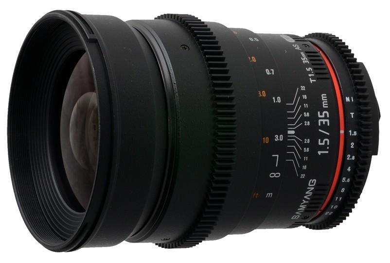 Samyang 35mm T1.5 Cinema Lens-55