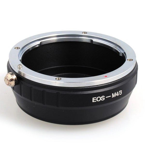 Canon EF EF-S Lens to Micro 4/3 Camera Adapter-857