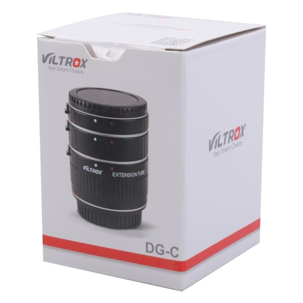 VILTROX DG-C Auto Focus Macro Extension Tube-1348