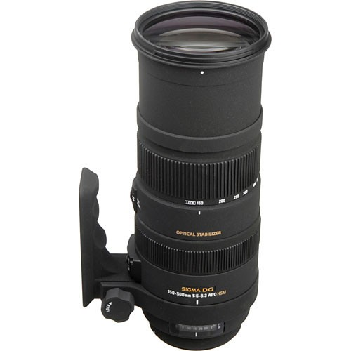 Sigma 150-500mm f/5-6.3 DG OS HSM APO Autofocus Lens -1360