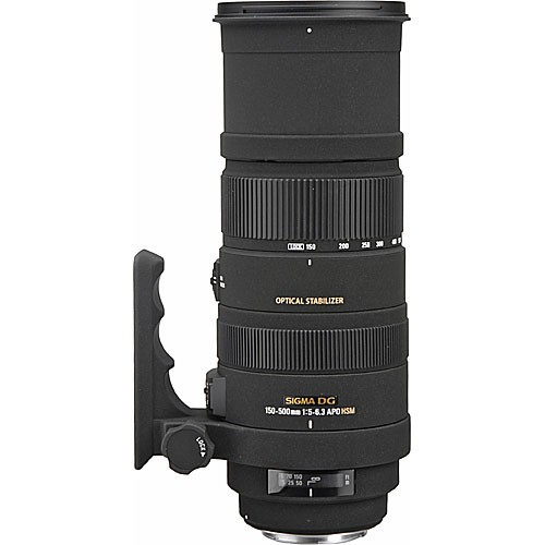 Sigma 150-500mm f/5-6.3 DG OS HSM APO Autofocus Lens -1361