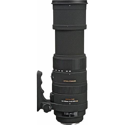 Sigma 150-500mm f/5-6.3 DG OS HSM APO Autofocus Lens -1362