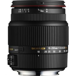 Sigma Telephoto Lens 18-200mm Lens in Pakistan