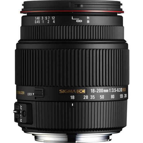 Sigma Telephoto Lens 18-200mm Lens in Pakistan