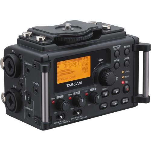 Tascam DR-60D 4-Channel Linear PCM Recorder-1469