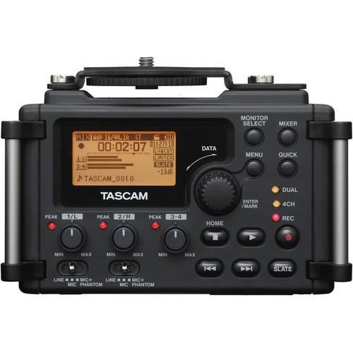 Tascam DR-60D 4-Channel Linear PCM Recorder-1470