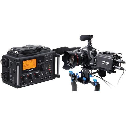 Tascam DR-60D 4-Channel Linear PCM Recorder-1475