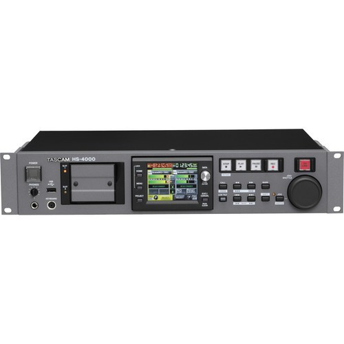 Tascam HS-4000 4-Channel Audio Recorder-1486