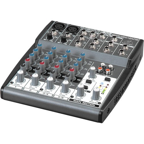 Behringer XENYX 802 8-Channel Compact Audio Mixer-1494