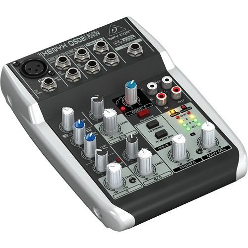 Behringer Xenyx Q502USB Premium 5-Input 2-Bus Mixer-1497