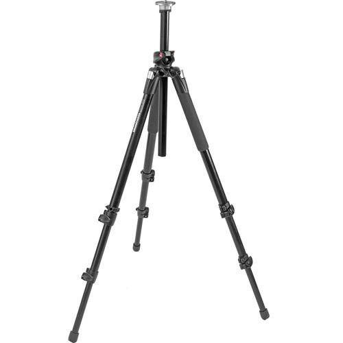 Manfrotto 055XPROB Tripod Legs (Black) w/ 804RC2 Head-2015