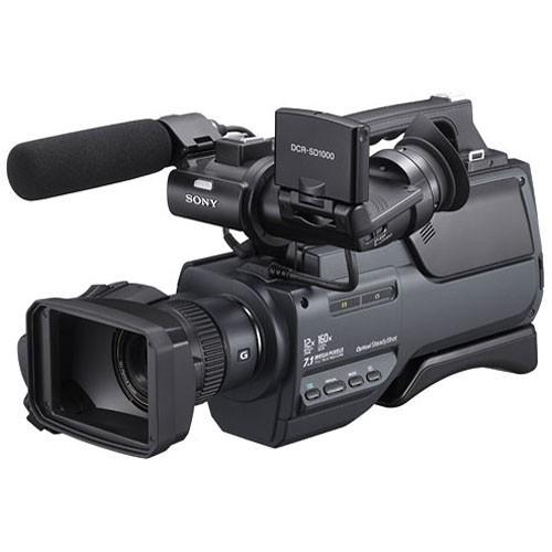 Sony DCR-SD1000E Handycam Shoulder-Mount Flash Memory PAL Camcorder-2199