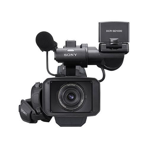 Sony DCR-SD1000E Handycam Shoulder-Mount Flash Memory PAL Camcorder-2202