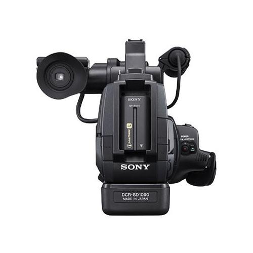 Sony DCR-SD1000E Handycam Shoulder-Mount Flash Memory PAL Camcorder-2203