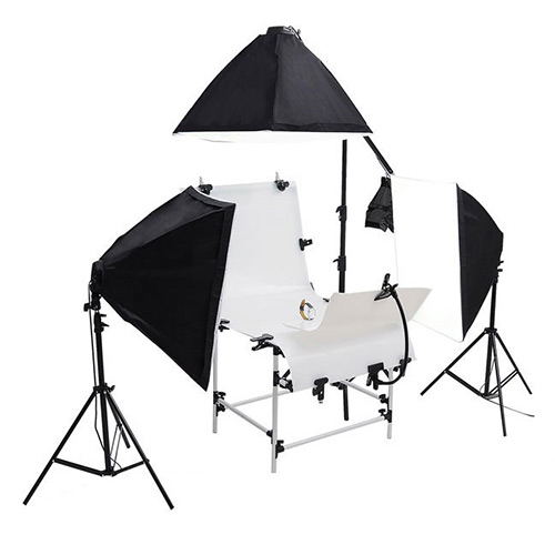 product photography lights