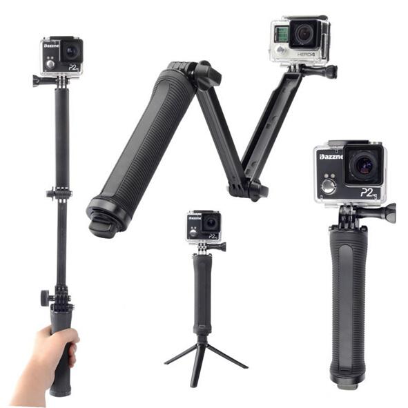 GoPro 3-Way 3-in-1 Mount