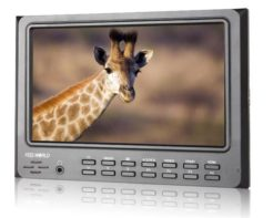 Camera Top LCD Monitor