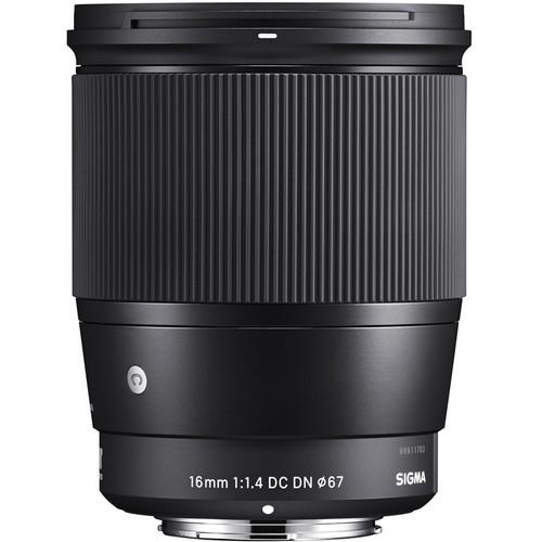 Sigma 16mm E Mount Lens