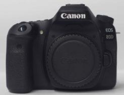 Canon 80D Used DSLR Camera