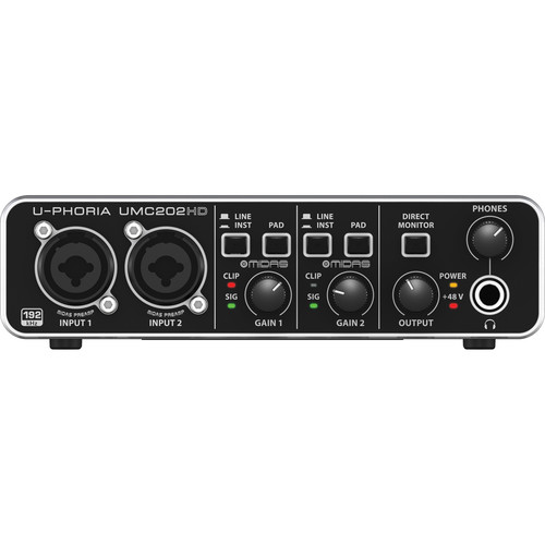 Behringer U-PHORIA UMC202HD Price in Pakistan
