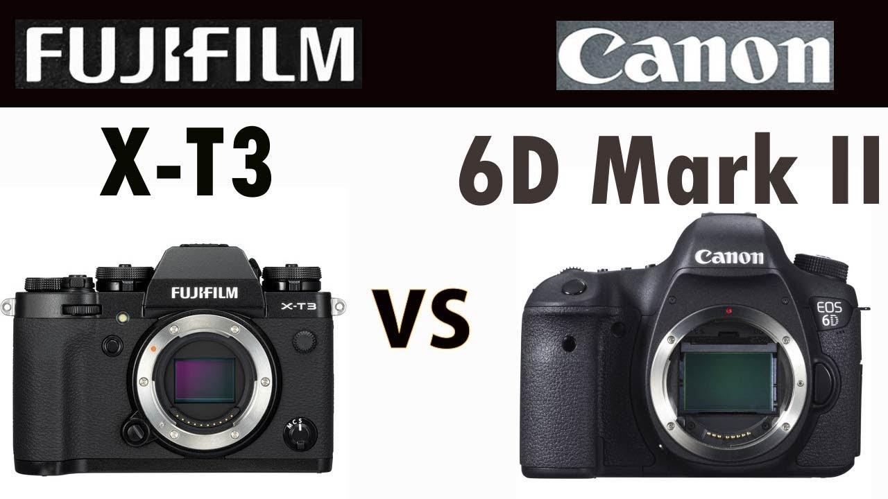 Fujifilm XT3 vs Canon 6D Mark II Comparison - Hashmi Photos