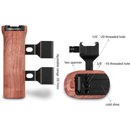 SmallRig Wooden Side Handle Price in Pakistan